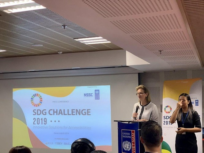 SDG Challenge 2019: Cuộc thi khởi nghiệp đầu tiên về giải pháp cho người khuyết tật tại Việt Nam ảnh 1