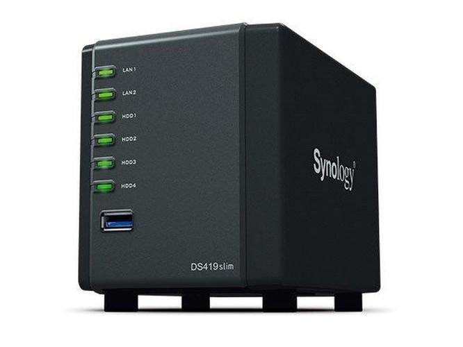 Synology giới thiệu DiskStation DS419slim, 'đám mây cá nhân' nhỏ gọn ảnh 1