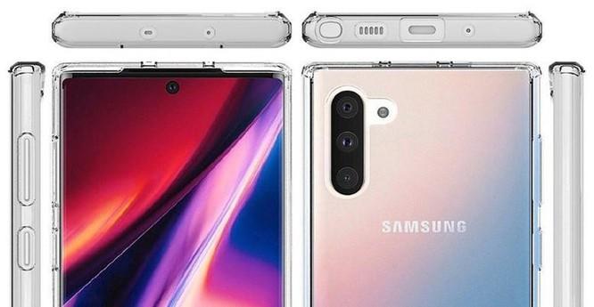Xuất hiện bộ ảnh chi tiết của Galaxy Note10 và Note10 Plus ảnh 5