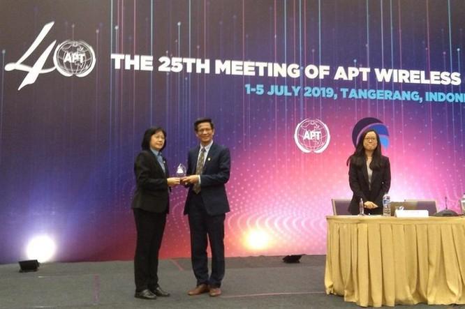 Lần đầu tiên Việt Nam được bầu làm Chủ tịch Hội nghị thông tin vô tuyến châu Á Thái Bình Dương ảnh 1
