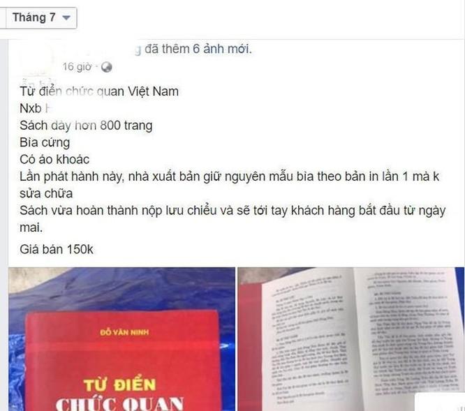 Hai phiên bản 'Từ điển chức quan Việt Nam', đâu là sách thật? ảnh 2