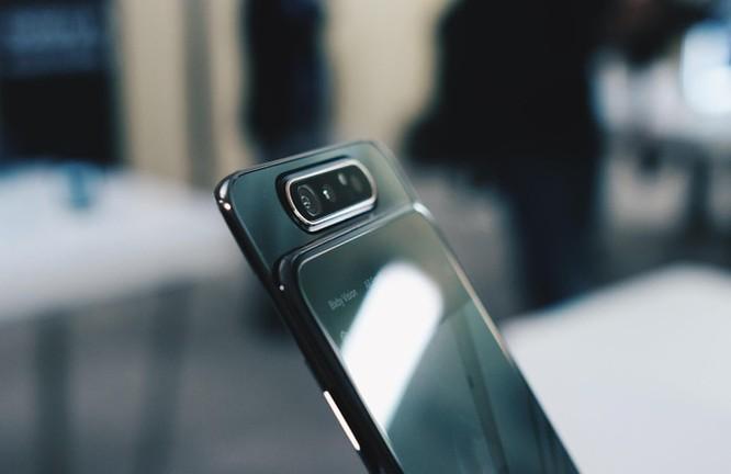 Galaxy A80 lên kệ tại VN - camera trượt xoay, giá 15 triệu đồng ảnh 1