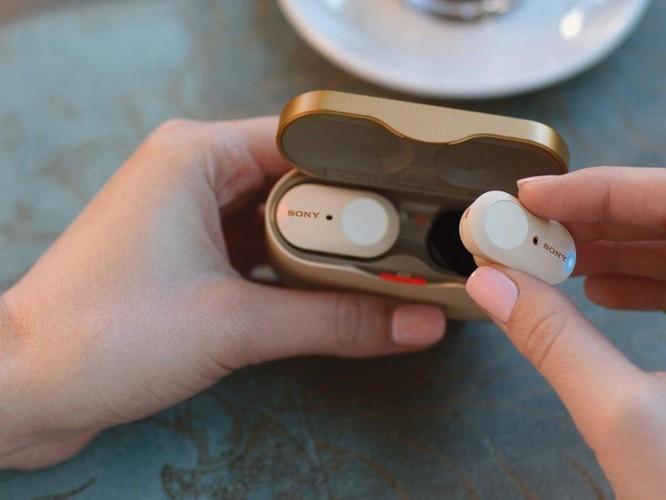 Cận cảnh tai nghe không dây 230 USD mới của Sony ảnh 4