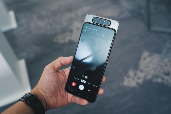 Galaxy A80 lên kệ tại VN - camera trượt xoay, giá 15 triệu đồng ảnh 3