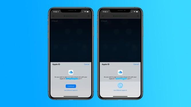 Apple thử nghiệm tính năng sinh trắc học để đăng nhập vào iCloud ảnh 1