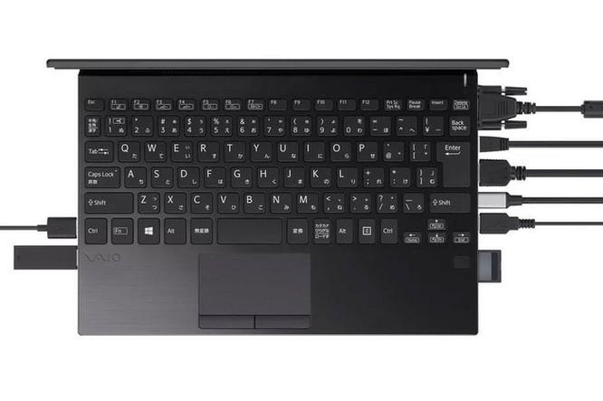 Vaio ra laptop mỏng nhẹ như MacBook nhưng số cổng nhiều gấp 8 lần ảnh 1