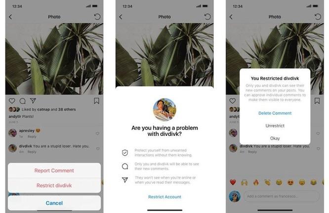 Instagram thêm công cụ chống bắt nạt qua mạng ảnh 1