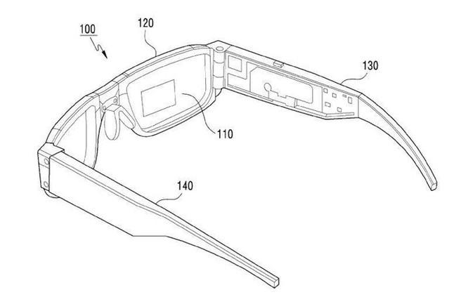Samsung sắp phát triển kính thực tế tăng cường có thể gập lại ảnh 1