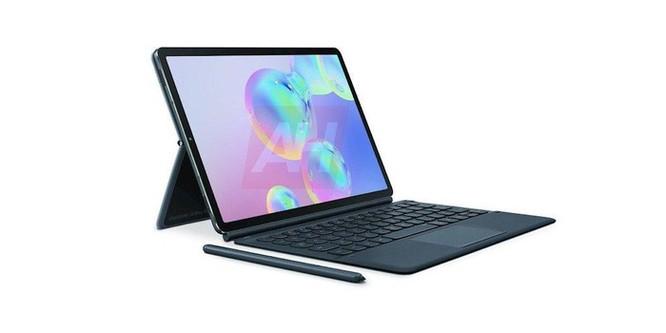 Hé lộ hình ảnh chiếc Samsung Galaxy Tab S6 với bút cảm ứng gắn bên ngoài ảnh 2