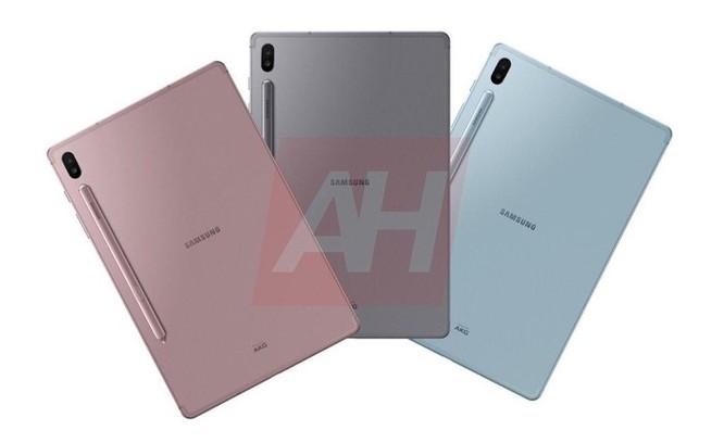 Hé lộ hình ảnh chiếc Samsung Galaxy Tab S6 với bút cảm ứng gắn bên ngoài ảnh 1