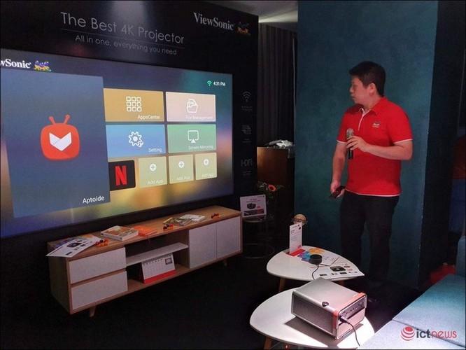 ViewSonic giới thiệu máy chiếu di động thông minh X10-4K tại Việt Nam ảnh 1