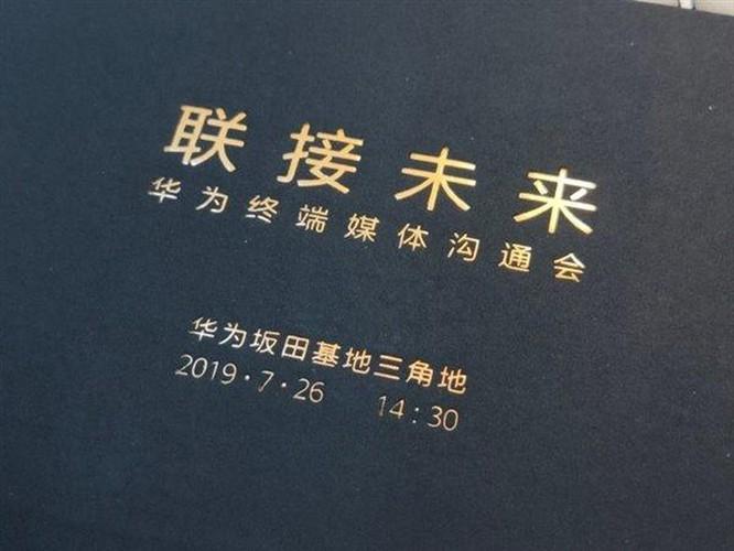 Huawei sẽ ra smartphone 5G đầu tiên vào tuần này, và đó là Huawei Mate 20 X ảnh 1