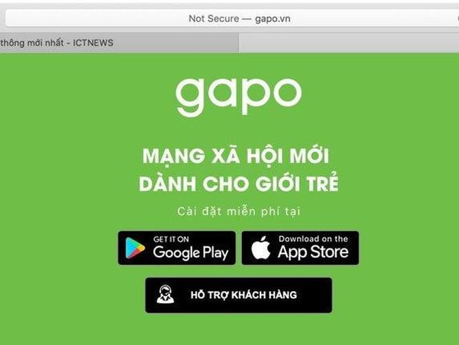 Gặp nhiều lỗi trong ngày đầu ra mắt, MXH Gapo thông báo bảo trì hệ thống ảnh 2