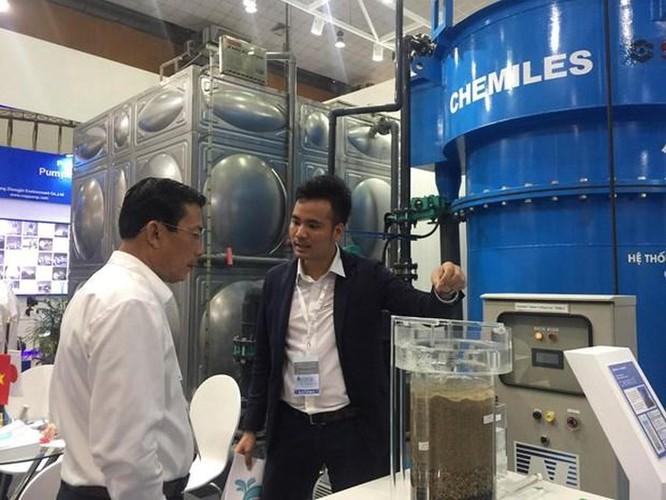 Gần 200 doanh nghiệp 'khoe' công nghệ xử lý nước tiên tiến tại Hà Nội ảnh 1