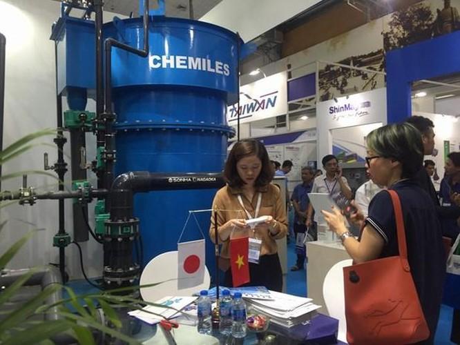 Gần 200 doanh nghiệp 'khoe' công nghệ xử lý nước tiên tiến tại Hà Nội ảnh 2