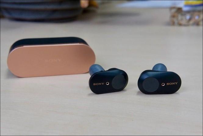 Mở hộp tai nghe Sony WF-1000XM3, tai nghe không dây chống ồn chủ động, giá 5,49 triệu đồng ảnh 4