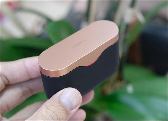 Mở hộp tai nghe Sony WF-1000XM3, tai nghe không dây chống ồn chủ động, giá 5,49 triệu đồng ảnh 1