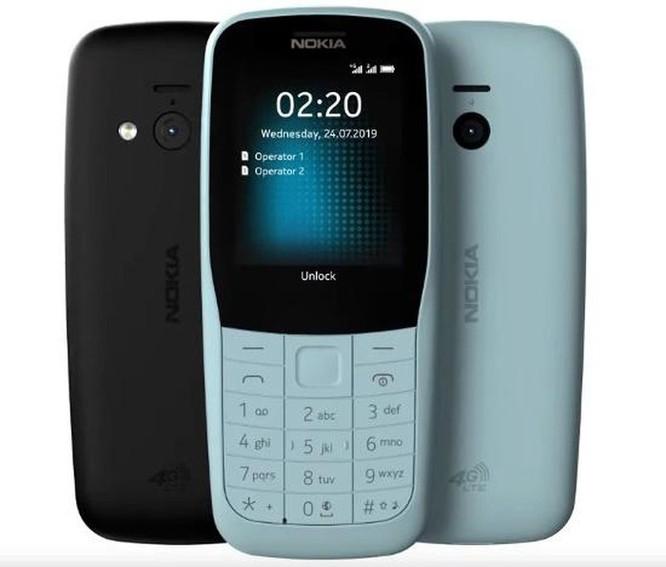 Nokia trình làng bộ đôi 'cục gạch' Nokia 220 4G và Nokia 105 (2019) ảnh 2