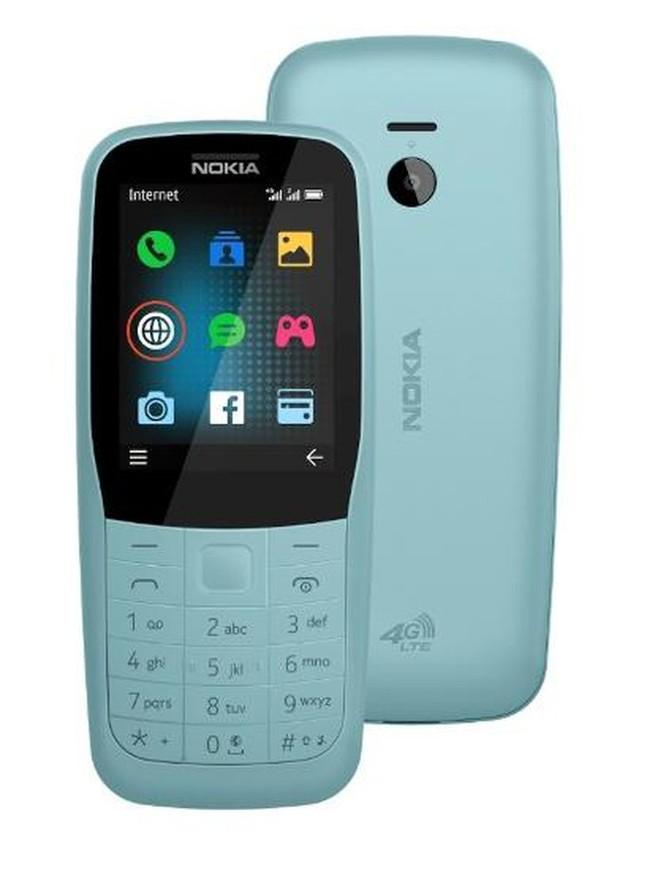 Nokia trình làng bộ đôi 'cục gạch' Nokia 220 4G và Nokia 105 (2019) ảnh 1