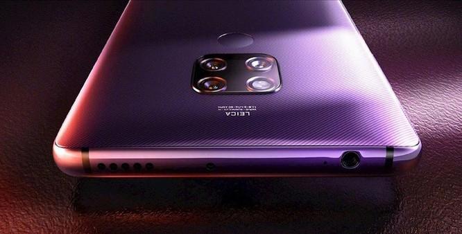 Huawei Mate 30 trang bị hai camera 40MP phía sau ảnh 1