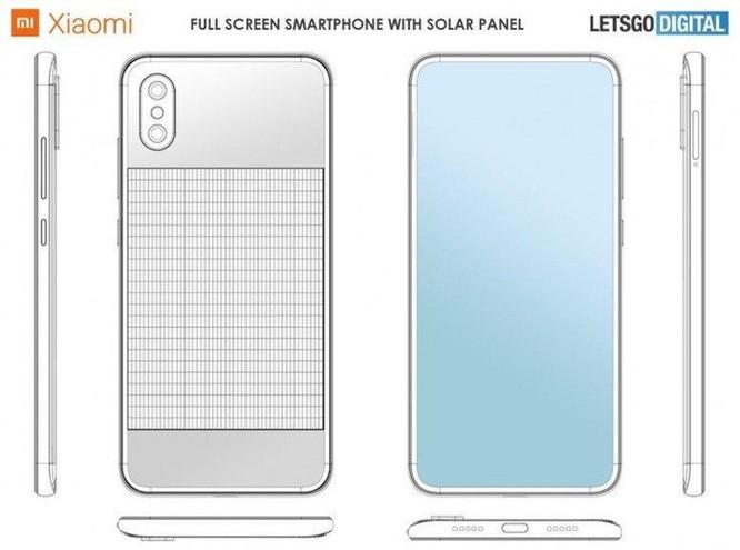 Rò rỉ thiết kế smartphone của Xiaomi tích hợp pin mặt trời ở mặt lưng ảnh 2