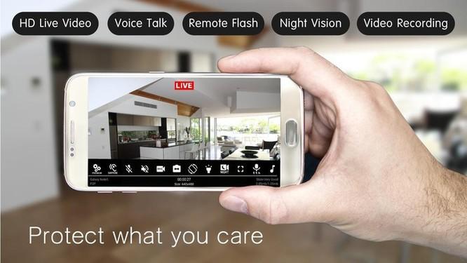 Biến chiếc điện thoại cũ thành camera an ninh cho gia đình ảnh 1
