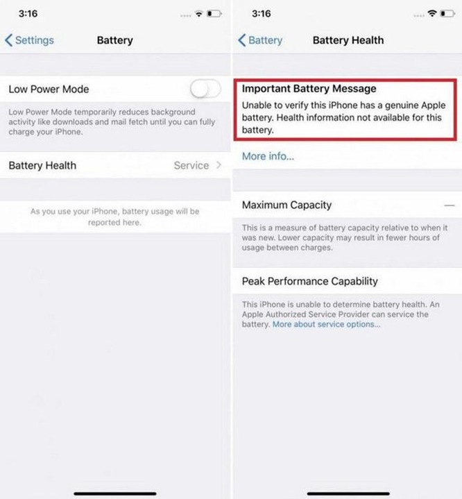 Apple sẽ chặn tính năng iPhone nếu bạn thay pin ngoài ảnh 2