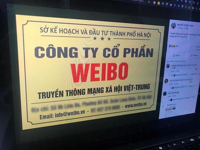 Thực hư việc xuất hiện mạng xã hội Weibo Việt Nam ảnh 1