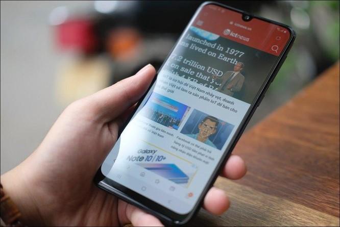 Mở hộp Samsung Galaxy M30: Nâng cấp camera và pin, giá 4,99 triệu đồng ảnh 8