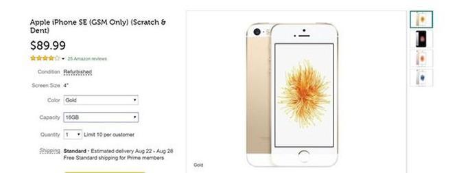 Chiếc iPhone rẻ nhất, nhỏ nhất vừa được 'hồi sinh' với giá 90 USD ảnh 2