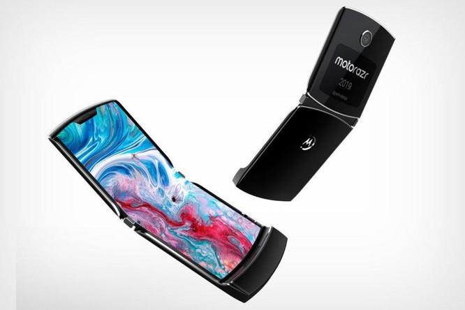 Motorola RAZR 2019 - mẫu smartphone gập vỏ sò đầu tiên sắp ra mắt ảnh 2