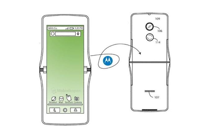 Motorola RAZR 2019 - mẫu smartphone gập vỏ sò đầu tiên sắp ra mắt ảnh 3