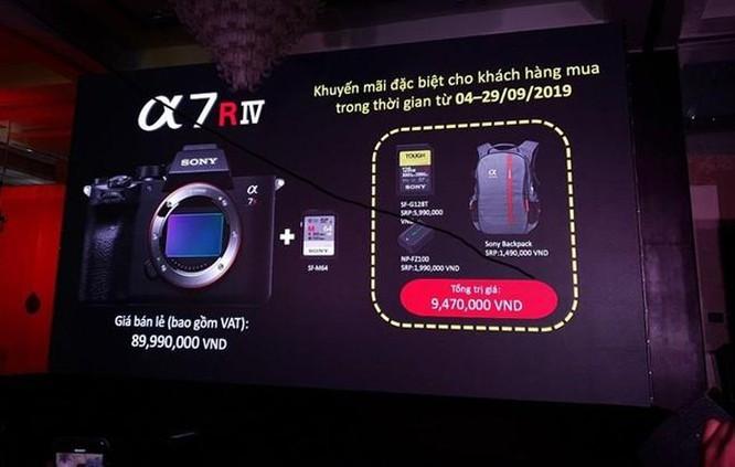 Sony a7R IV ra mắt tại Việt Nam với giá 90 triệu ảnh 7