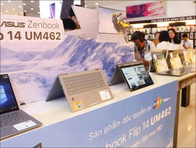 FPT Shop mở bán bộ đôi laptop Ultrabook Asus ZenBook UM433 và ZenBook Flip 14 UM462 ảnh 2