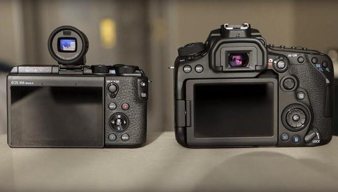 Canon ra mắt máy ảnh DSLR 90D và mirrorless M6 Mark II, nâng cảm biến ảnh 6