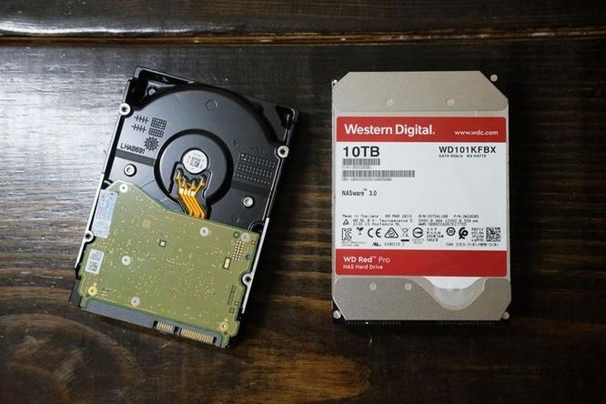 Thử nghiệm WD Red Pro 10TB NAS: Ổ lưu trữ khủng, đáng tin cậy cho hệ thống NAS vừa và lớn ảnh 1