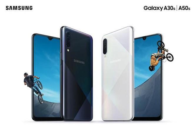 Galaxy A50s và A30s về VN - camera 48 MP, giá từ 6,3 triệu đồng ảnh 2