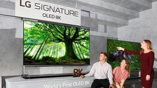 LG sắp phát hành mẫu tivi OLED 8K trên thị trường toàn cầu ảnh 1