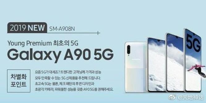Smartphone cận cao cấp 5G đầu tiên của Samsung có gì nổi bật? ảnh 2