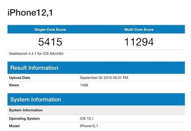 iPhone 11 sẽ là smartphone mạnh nhất thế giới ? ảnh 1