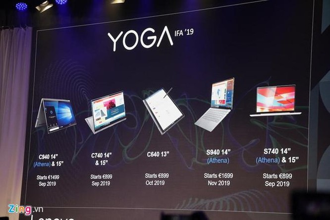 Lenovo làm mới loạt sản phẩm Yoga, học hỏi từ smartphone ảnh 11