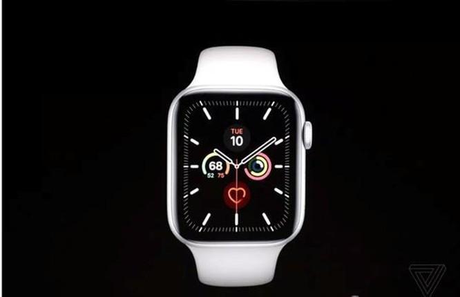 Apple Watch Series 5 có màn hình luôn bật và có vỏ titan, gốm ảnh 1