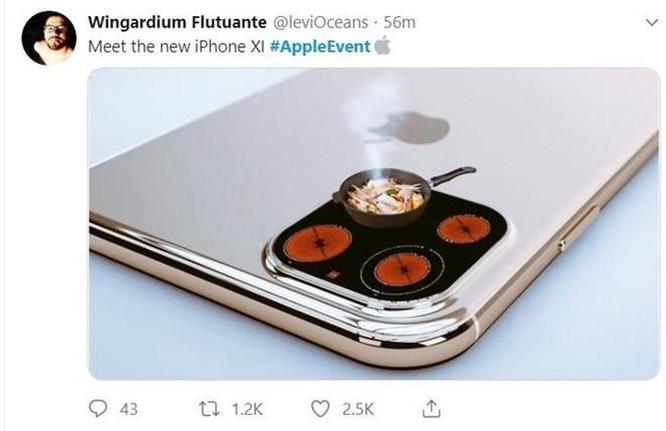 Ảnh chế hài hước, chê thậm tệ kiểu dáng iPhone mới ảnh 3