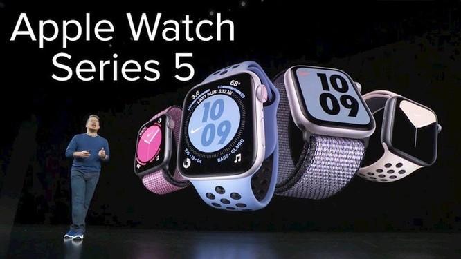 Apple Watch series 5: Màn hình always-on, có thêm tính năng gọi cấp cứu vô cùng hữu dụng ảnh 1