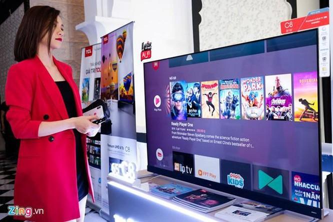 TCL ra mắt TV C8 - màn hình 55 inch 4K, giá 20 triệu đồng ảnh 1