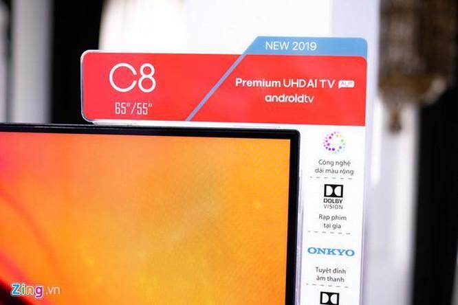 TCL ra mắt TV C8 - màn hình 55 inch 4K, giá 20 triệu đồng ảnh 3