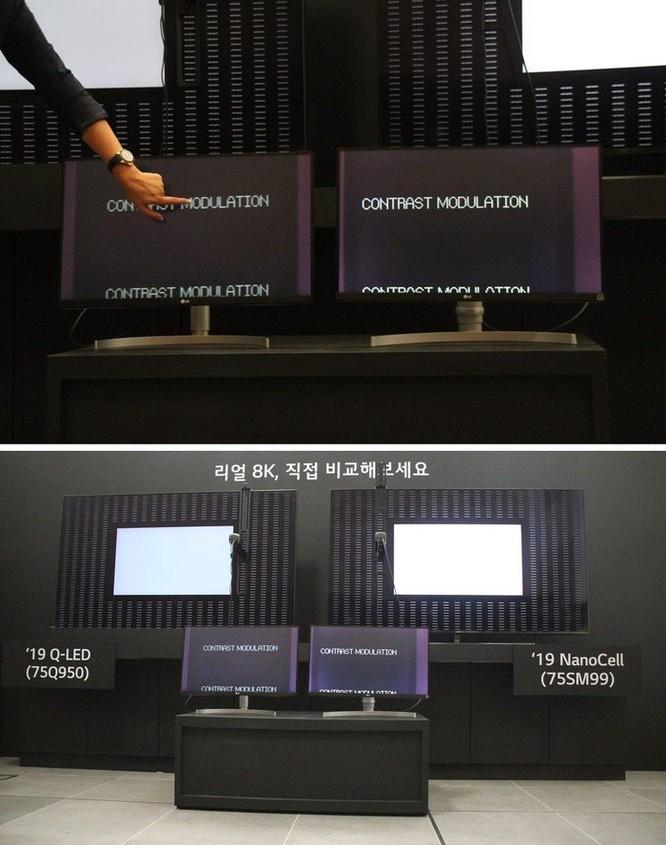 Samsung, LG tiếp tục 'khẩu chiến' chất lượng tivi 8K ảnh 2