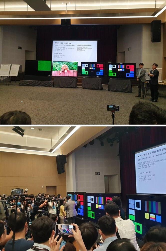 Samsung, LG tiếp tục 'khẩu chiến' chất lượng tivi 8K ảnh 3