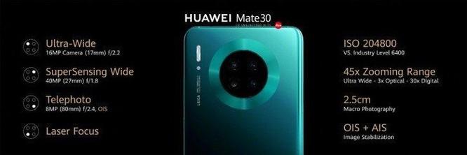 Huawei chính thức ra mắt Mate 30 và Mate 30 Pro: Cái gì cũng có, trừ ứng dụng Google ảnh 5