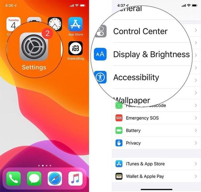 Hướng dẫn bật Dark Mode trên iOS 13 sau khi lên đời ảnh 4